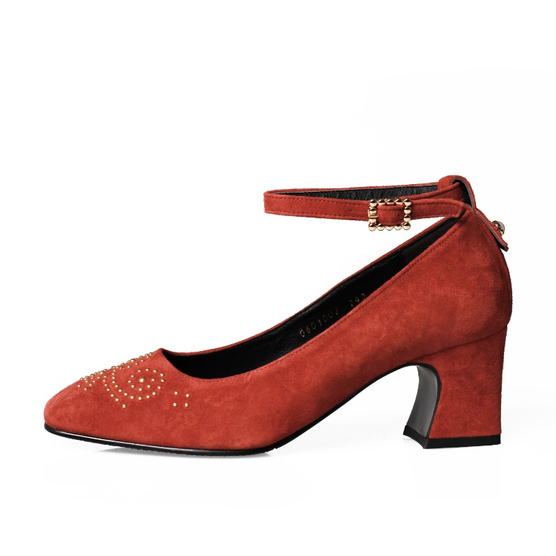 Second Romance Heel, Brickred