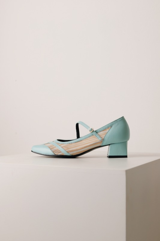 Split Pumps, Blue