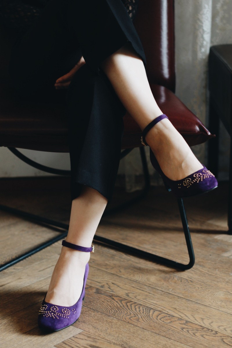 Second Romance Heel, Violet