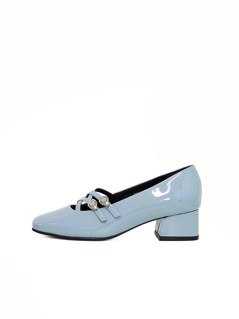 Pearl 50 Pumps, S.Blue