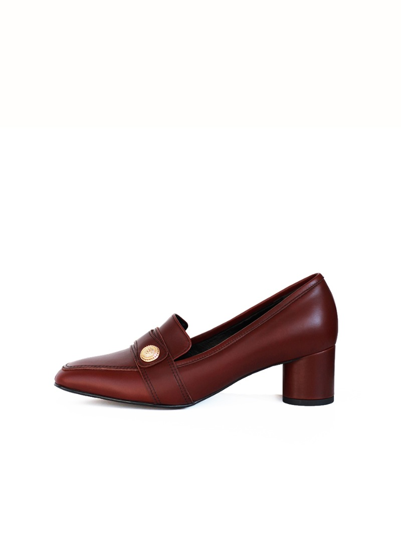 Clothes Pumps, Red Brown