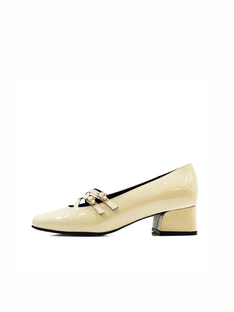 Pearl 50 Pumps, new ivory