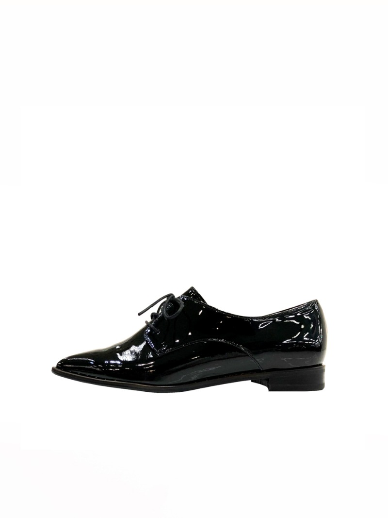Twinkle gold loafer, black